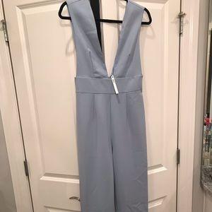 ASOS blue jumpsuit
